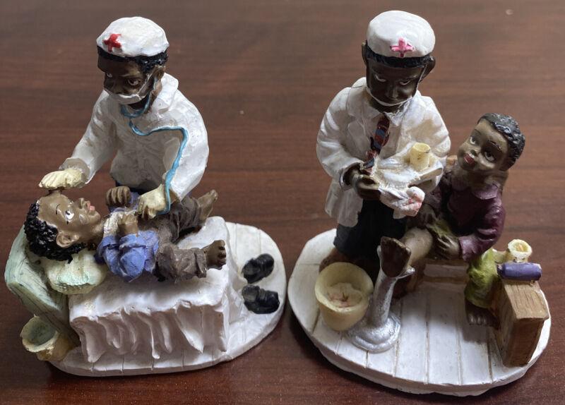 Medical Nurse Figuirine Lot Of 2