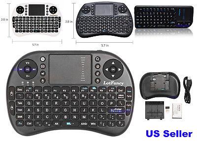 Mini 2.4G Wireless Keyboard Remote for Raspberry LG Smart TV Kodi Android TV Box