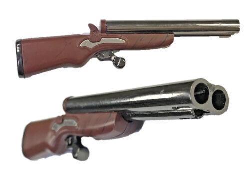 Eclipse Novelty Double Barrel Rifle Style Double Flame Cigar Cigarette Lighter