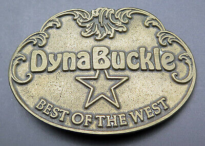 Dynabuckle Best Of The West Western Ornate Scroll Cowboy Vintage Belt