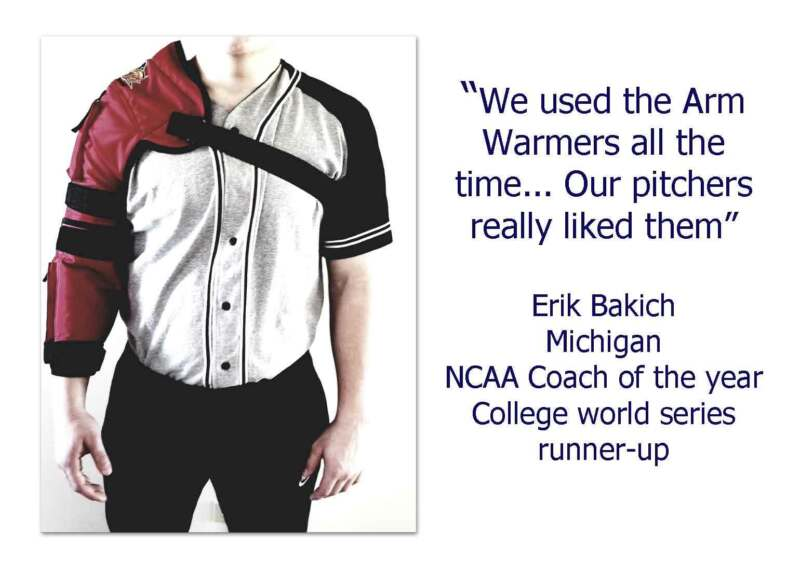 Pitchers arm Warmers by Hot-Bat