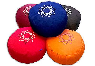 Yoga Meditationskissen Yogakissen 32x 14 cm verschiedene Farben