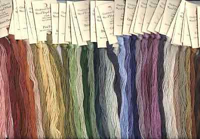 Crescent Colours/ Classic Colorworks Hand-Dyed Floss - U CHOOSE 6 (Hand Dyed Floss)
