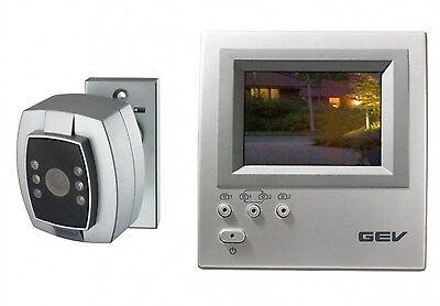 Videoüberwachung mit Kamera IR-LEDs TFT Nachtsicht Überwachungsanlage GEV 085008