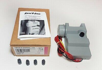 Rain Bird - TBOS-II - Model 4 - Series Battery-Operated Irrigation Controller