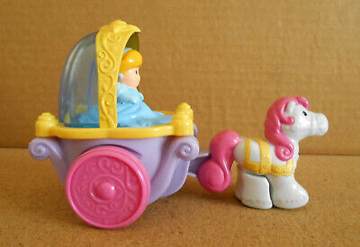 Fisher Price Little People Disney Cinderella Klip Klop  Horse and Carriage