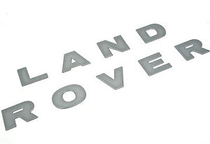 Genuine-New-Silver-LAND-ROVER-BONNET-BADGE-for-Discovery-2-DAG100370MAD-TDi-V8