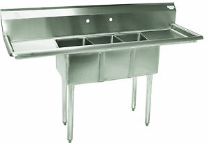 Commercial Sinks On Ebay : Commercial Kitchen Sink eBay