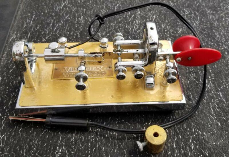 Vintage Vibroplex Bug CW Operation Morse Code Serial Number 270718