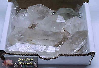 Quartz Crystal Collection 1/2 Lb Natural Clear Points Brazil