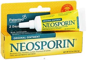 Neosporin First Aid Original Ointment (0.5oz)  Free Worldwide Shipping