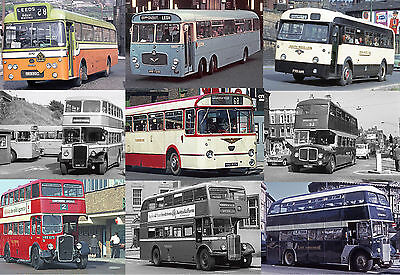 Yorkshire Buses from the 1960s and 70s, 340 Rare Photos on DVD, inc Bus Stations