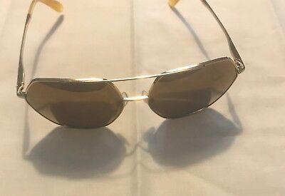 a9b9a3b0564d Dolce Gabbana DG 2157 02 N0 Aviator Gold Brown Mirrored Sunglasses