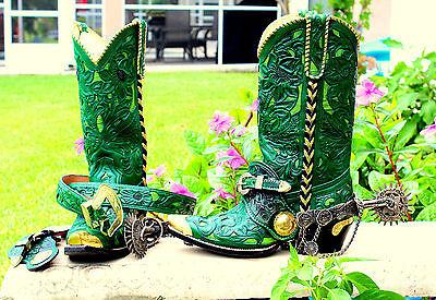 Old Gringo Style cowboy boot Size 8-9 Men/ Women 9.5-10.5