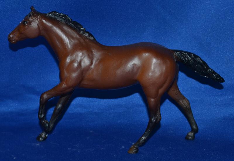 Breyer~Paddock Pal~1984-88~Bay Thoroughbred Stallion