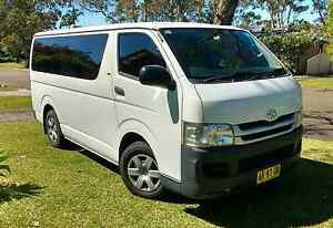 Toyota Hiace LWB 6 Seater Auto Low Kms Kincumber Gosford Area Preview