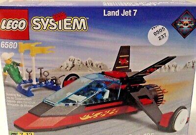 VINTAGE VERY RARE LEGO LAND JET 6580 Complete Set