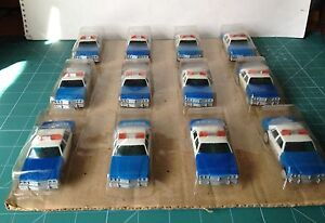 MATCHBOX-POWERTRACK-12-COCHES-DE-POLICIA-VER-FOTO