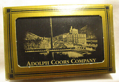 Coors Beer Playing Cards -- Full Deck;  In the Box!