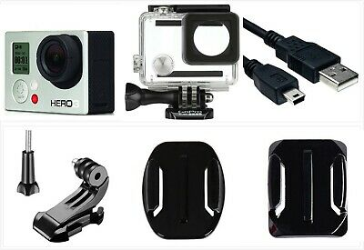 Refurbished GoPro HERO 3 White 1080P 5MP HD Sport Action Camera waterproof Case