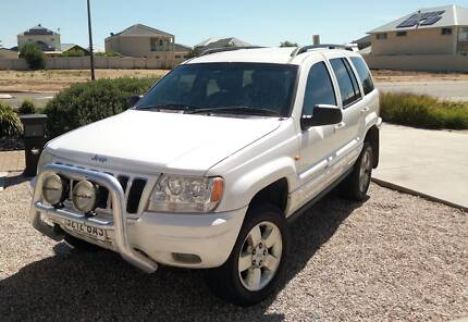 2003 Jeep Grand Cherokee WG Limited white Automatic 5 cyl 2.7L