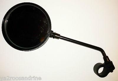 rétroviseur rond noir idéal solex et mobylette a collier plastique neuf  4