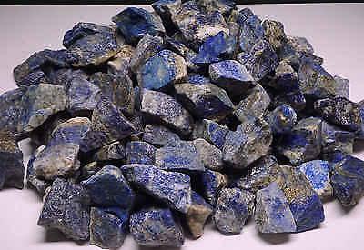 Lapis Lazuli 1/2 Lb Lots Natural Blue Gemstone Rough Pyrite Lazurite Calcite