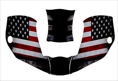 Miller Digital Infiniti 271329 Infinity Welding Helmet Decal American Flag Black
