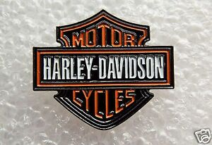 Harley Davidson Motor Cycles Shield enamel pin / lapel badge Evo Pan head Shovel