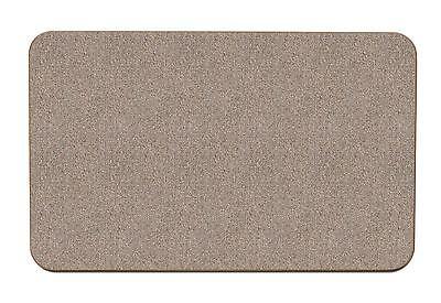 Skid-resistant Carpet Area Rug Floor Mat - Pebble Beige - 2'