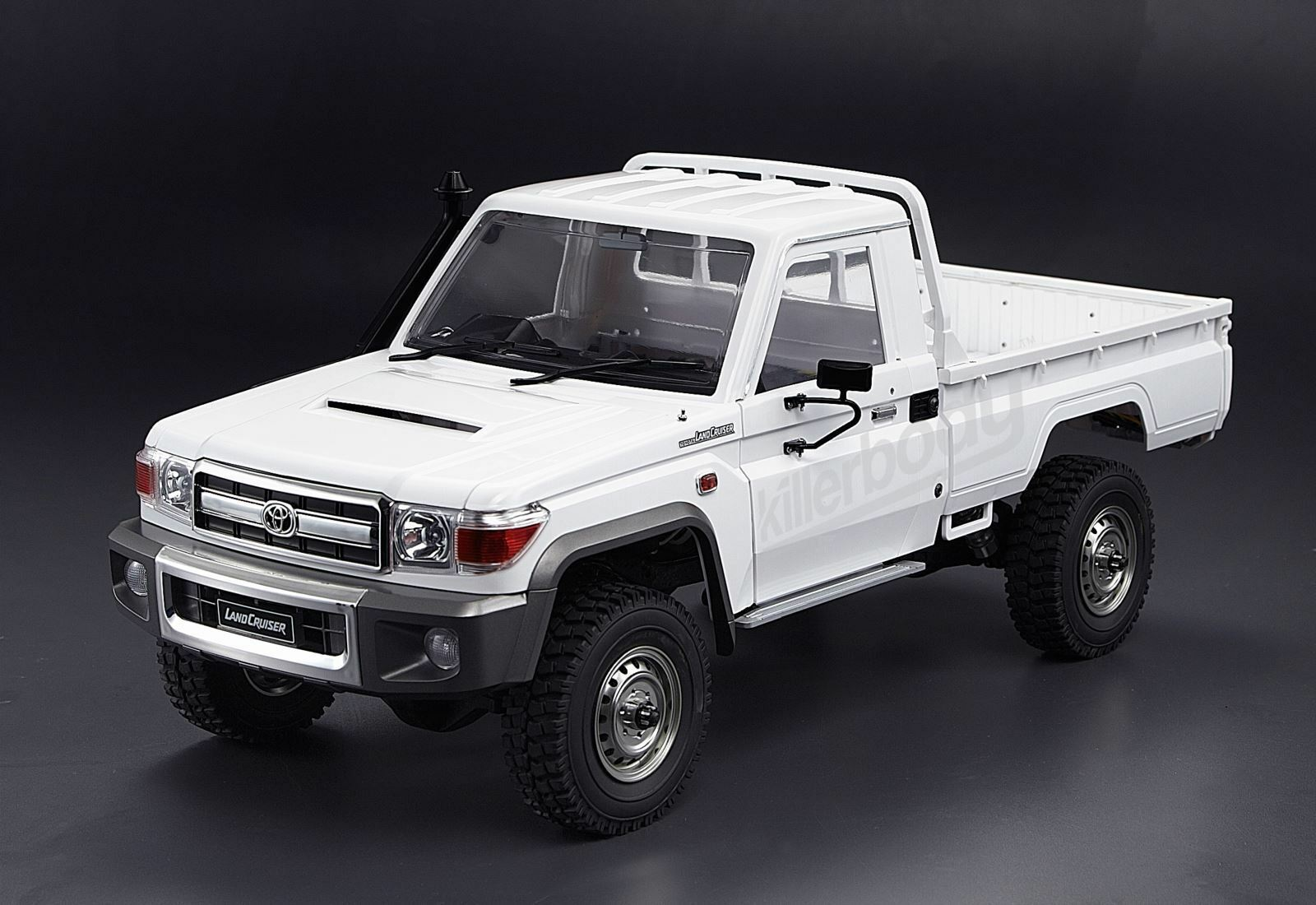 rc 1 10 truck hard body shell toyota land cruiser 70 pick. Black Bedroom Furniture Sets. Home Design Ideas