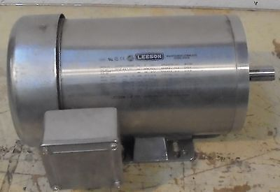 Leeson Gear Motor G121421 3ph 208-230190v 17401440rpm
