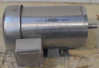 Leeson Gear Motor G121421 3ph 208-230190v 17401440rpm