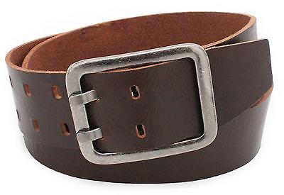 5 cm breit Gürtel echtes Leder Vollleder braun schwarz Jeansgürtel Belt Vascavi - Leder Echtes Gürtel