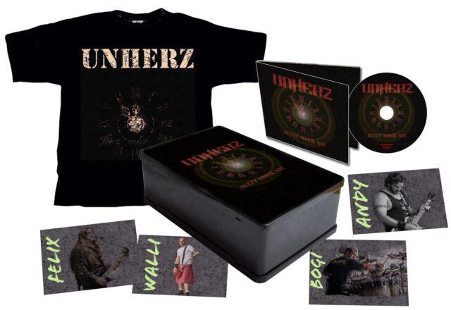 UNHERZ Jetzt oder nie - Lim.Metalbox Set incl. Digipak-CD, T-Shirt... ( 206918 )
