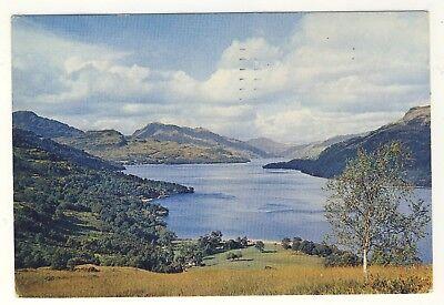 Old Postcard (1958) - Loch Lomond, Dunbartonshire - Posted M196