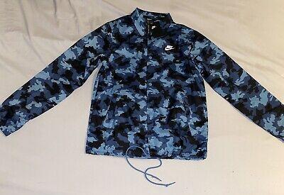 Nike Men's Camo Coaches Jacket CJ4537-424 Size M
