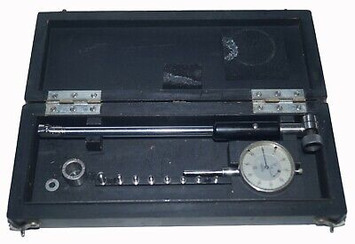 Mahr 10mm - 18mm Dial Bore Gage Set 1100mm 0.4033 Setting Ring Case