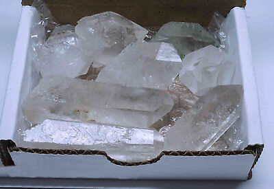 Quartz Crystal Collection 1 2 Lb Natural Clear Points Brazil