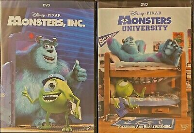 Monsters, INC. & Monsters University (Disney/Pixar, DVD, FREE Shipping)