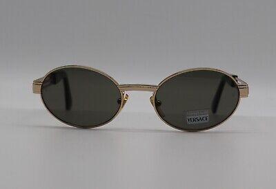 Gianni Versace Vintage Medusa Gold Tempered Glass MOD S15 Men Women's Sunglasses