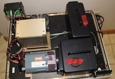 Andor Dv420-0e Ccd Camera Nikon Nikkor 85mm Cosmicar Lens 75mm. 50mm 50mm