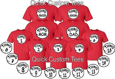 thing 1 thing 2 t-shirts nice cute new kids adults thing one two for halloween