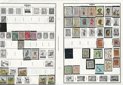 Africa Collection on 40+ Harris Pages, Angola, Cape Verde, Dahomey, Cameroun