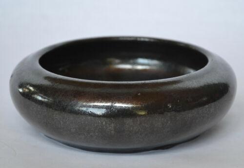 Fulper Black Pottery Bowl