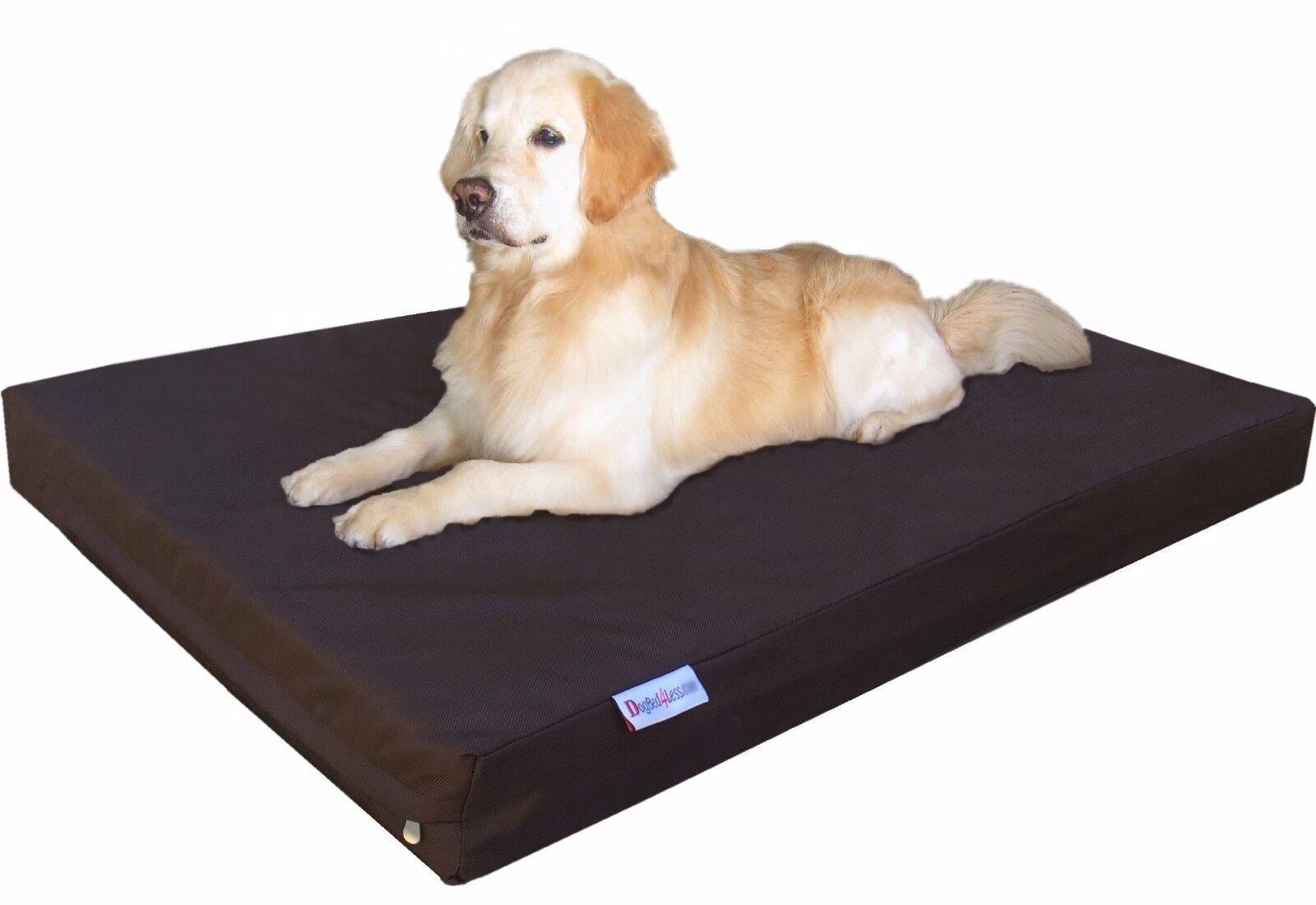 1680 Ballistic Waterproof Memory Foam Pet Bed Medium Extra L