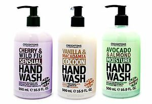 CREIGHTONS HANDWASH 500ml - Cherry&Fig/Vanilla&Almond ...