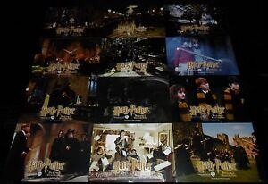 2001-Harry-Potter-and-the-Sorcerers-Stone-ORIGINAL-LOBBY-CARD-SET-J-K-Rowling