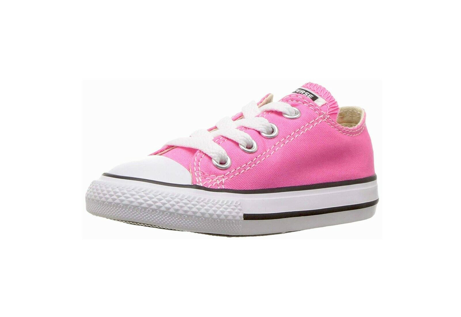 Converse All Star Low Top Canvas Chuck Taylor Infant Shoes For Girls 7J238