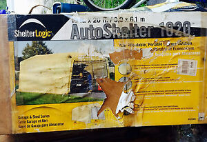 Autoshelter  portable garage new in box 10'x20'x8' $300